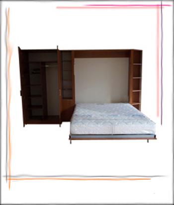 падащо легло с гардероб