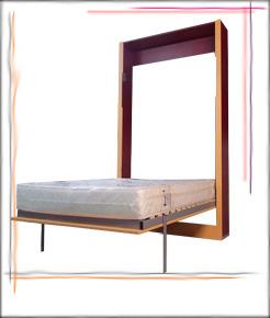 падащо легло вертикално